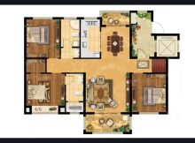 (城南)美麟常青藤3室2厅2卫112万125.5m²出售